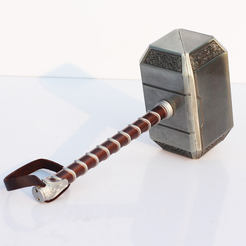 Image 4 - 20cm Thor's Hammer Toys Thor Custome Thor Hammer Cosplay Hammer Free Shipping-in Action & Toy Figures from Toys & Hobbies