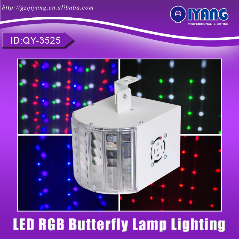 QY-3525 RGBWOP 6 Color DMX Stage Light LED Disco Light Beam Effect Butterfly Lamp Lighting Cheap Price with Good Quality niugul dmx stage light mini 10w led spot moving head light led patterns lamp dj disco lighting 10w led gobo lights chandelier