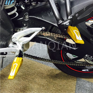 Image 2 - CNC Aluminum motorbike Motorcycle Folding Motorcycle Rear Passenger Foot Pegs Pedals Footrests FITS FOR YAMAHA MT10 MT 10 mt10