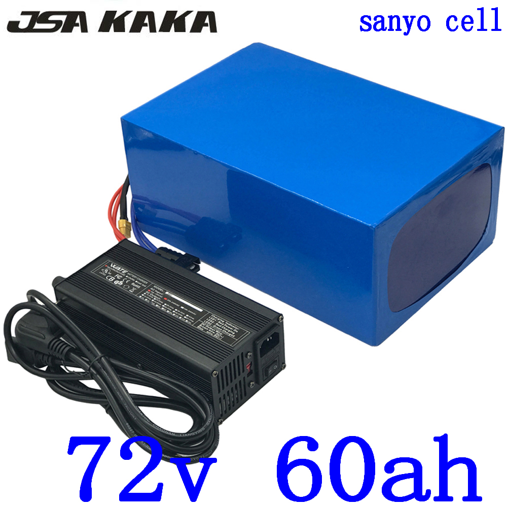 <font><b>72V</b></font> <font><b>battery</b></font> <font><b>72V</b></font> 3000W 4000W 5000W Electric Scooter Battery72V <font><b>60AH</b></font> lithium <font><b>Battery</b></font> <font><b>72V</b></font> <font><b>60AH</b></font> Electric Bike <font><b>Battery</b></font> use sanyo cell image