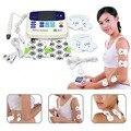 Professionelle XFT 320 Elektrische Stimulator Massager Dual Zehner maschine Digital Massage Volle Körper Entspannung Schmerzen Relief Gerät|AC/DC Adapter|Verbraucherelektronik -