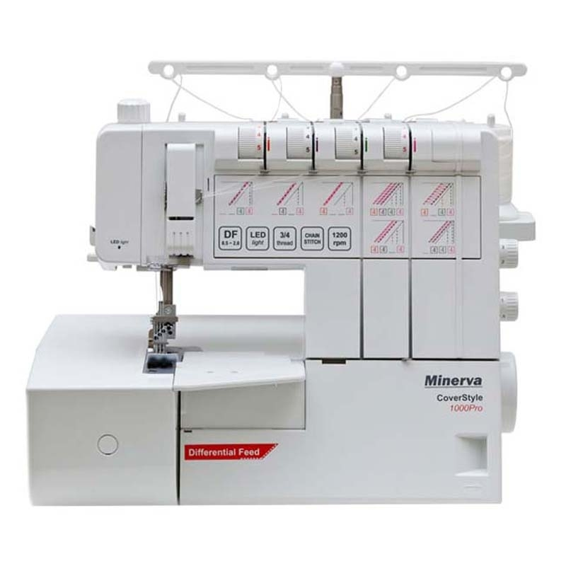 Sewing machine Minerva CS1000Pro hot sell 5000m roll colorful multipurpose reflective sewing thread free shipping