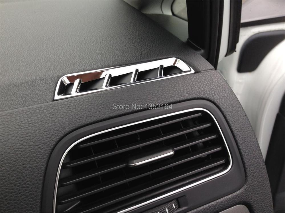 Авто инерционные аксессуары, переднее вентиляционное отверстие воздухозаборника отделка Наклейка для Volkswagen vw golf 7, 2 шт./партия, автомобильный Стайлинг