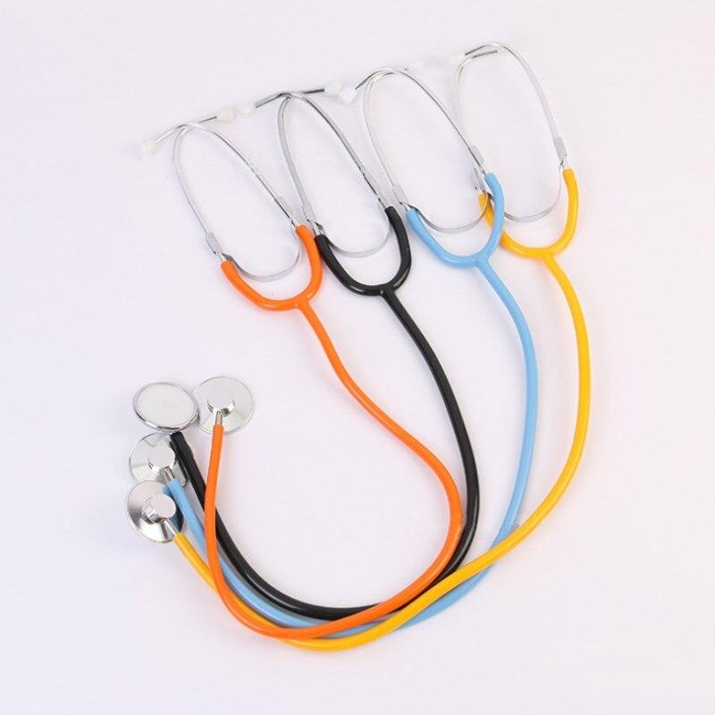 2 Pcs Portable Stethoscope Professional Single Head Clinical Stethoscope For Doctor Nurse Hospital Clinic Medical Equipment