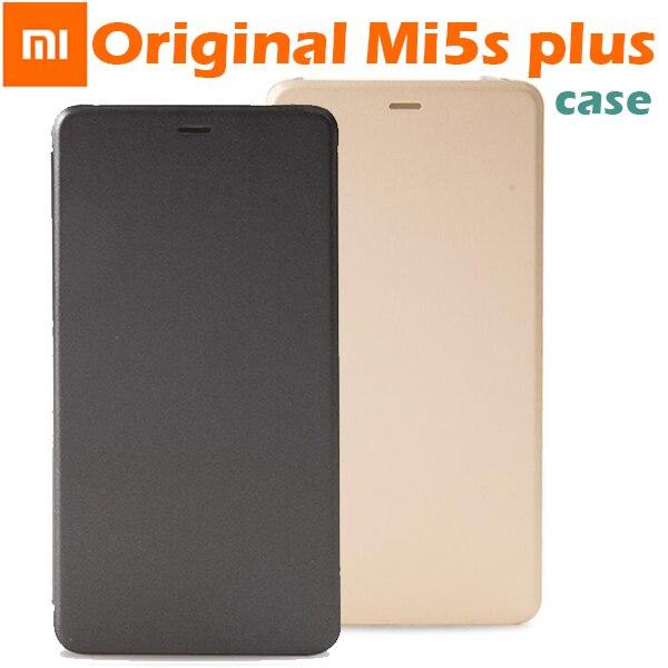 competitive price 6d086 9e07c US $12.99 20% OFF|100% Original Xiaomi MI5s plus M5s plus Smartwake Flip  Cover Case Leather Cover PC+PU For Xiaomi MI 5S MI5S Plus Inch 5.7-in Flip  ...