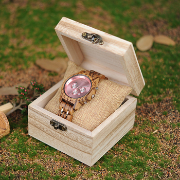 BOBO BIRD Women Watches Luxury Chronograph Date Quartz Watch Luxury Versatile Ladies Wooden Timepieces Accept Logo Drop Shipping 6
