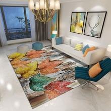 Ink abstract carpet  living room Floor mat Hotel model rug 3D flower Leaves door velvet non-slip bedroom customize