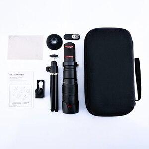 Image 5 - 4K HD 36X Zoom Ottico del Telescopio Del Telefono Dellobiettivo di Macchina Fotografica Teleobiettivo Per il iPhone Huawei Xiaomi Smartphone Lenti lente para celular