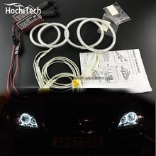 HochiTech ccfl angel eyes kit white 6000k ccfl halo rings headlight For Ford Focus II Mk2 2004 2005 2006 2007 2008
