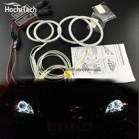 HochiTech ccfl angel eyes kit wit 6000 k ccfl haloringen koplamp Voor Ford Focus II Mk2 2004 2005 2006 2007 2008