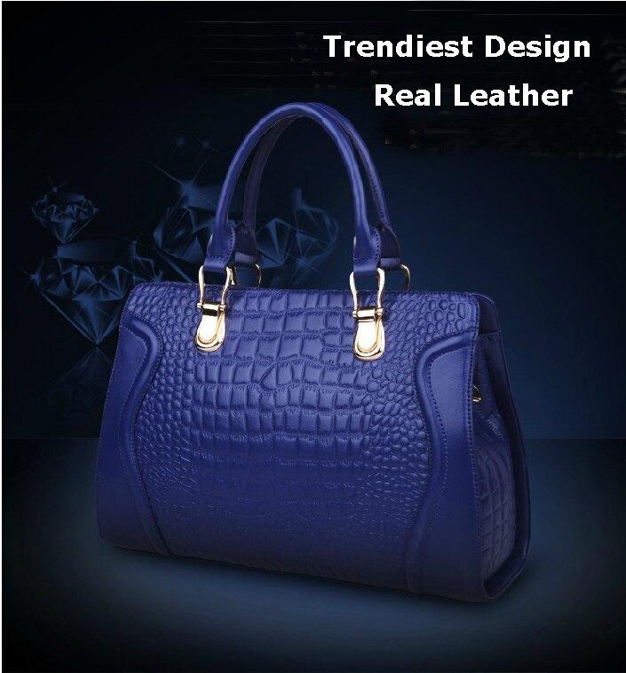 Новое Прибытие 2017 модные женские сумки картины крокодила вены кожаный мешок, натуральная кожа сумки сумки женщины известные бренды