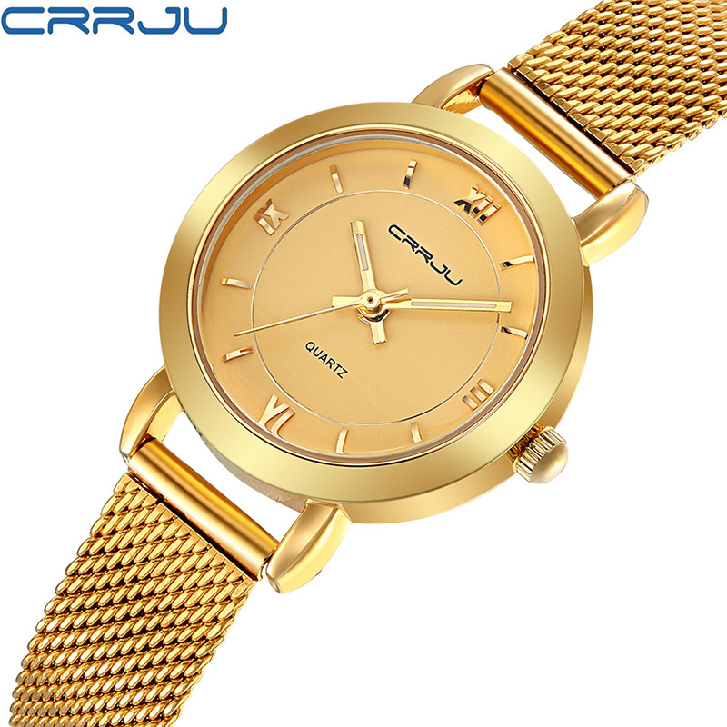 2017 Fashion Casual Wrist Watch Women Rose Gold Silver Lady Bracelet Golden Wristwatch Relogio Feminino Hodinky Montre Femme 46