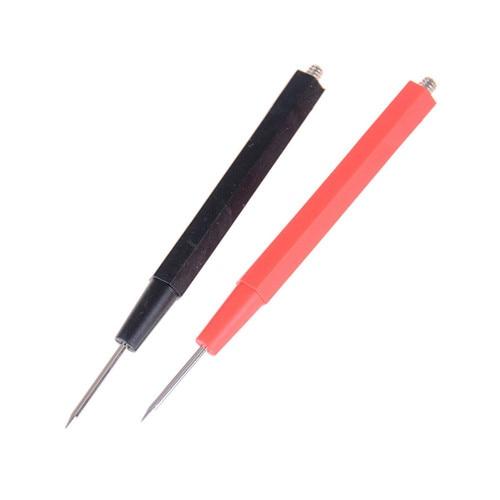 teste de silicone com cabo de chumbo