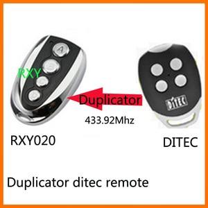 Image 1 - DITEC GOL4 remote control 433mhz roling code gate garage door DITEC 433.92MHz remote control