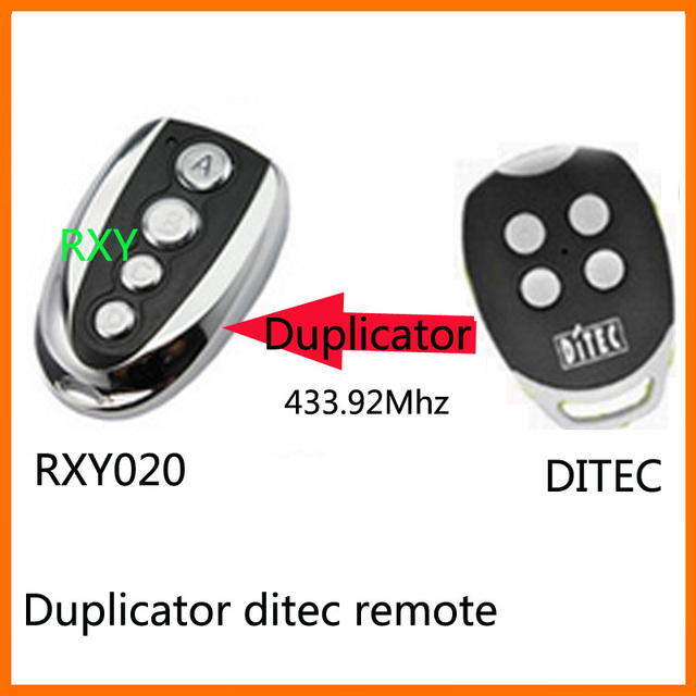 DITEC GOL4 remote control 433mhz roling code gate garage door DITEC 433.92MHz remote control