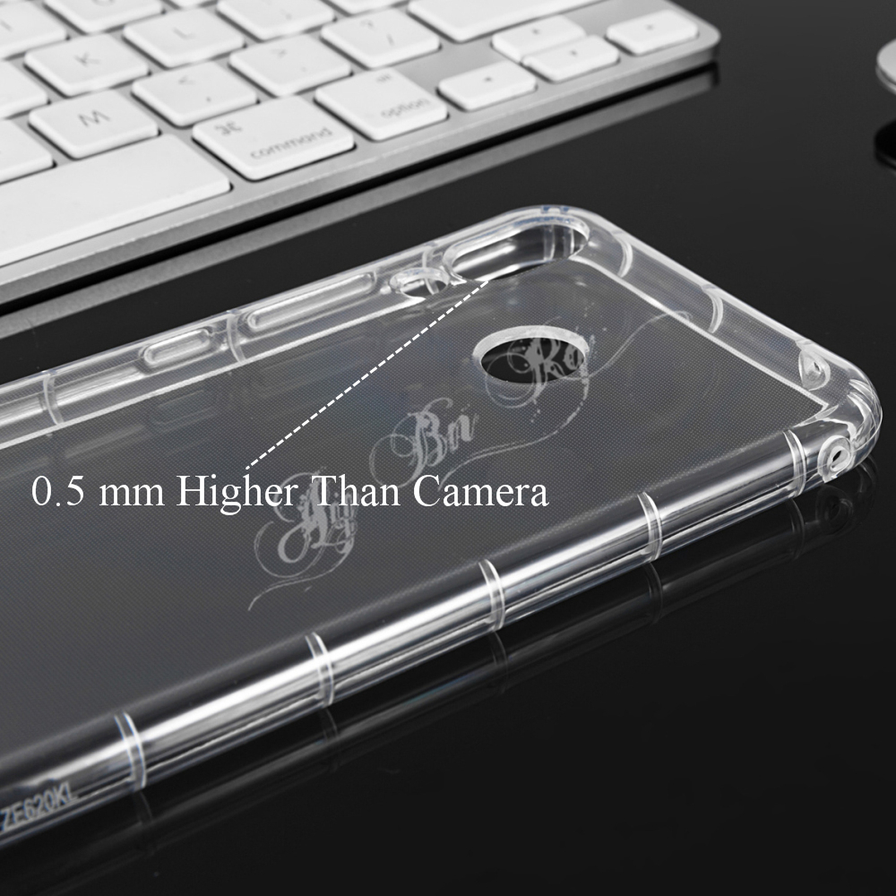 e828fb91a4385 Super Shockproof Transparent Anti Knock Air Cushion Case For XiaoMi ...