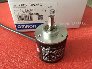 Image 1 - Новый E6B2CWZ6C OMRON роторный кодер E6B2 CWZ6C 2500 2000 1800 1024 1000 600 500 400 360 200 100 60 40 30 20 P/R 5 24v