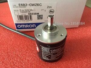 Image 1 - NEW E6B2CWZ6C OMRON Rotary Encoder E6B2 CWZ6C  2500 2000 1800 1024 1000 600 500 400 360 200 100 60 40 30 20P/R 5 24v