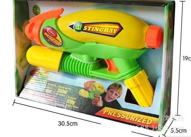 1 unid/caja guerra de agua pistola de natación pistolas de agua para los niños y niños favorita Summer Beach juguetes envío gratis