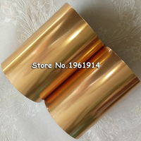 2pcs Matt Gold Leather Hot Stamping Foil Manual Gildin Foiling Paper For Stamping Machine Heat Transfer
