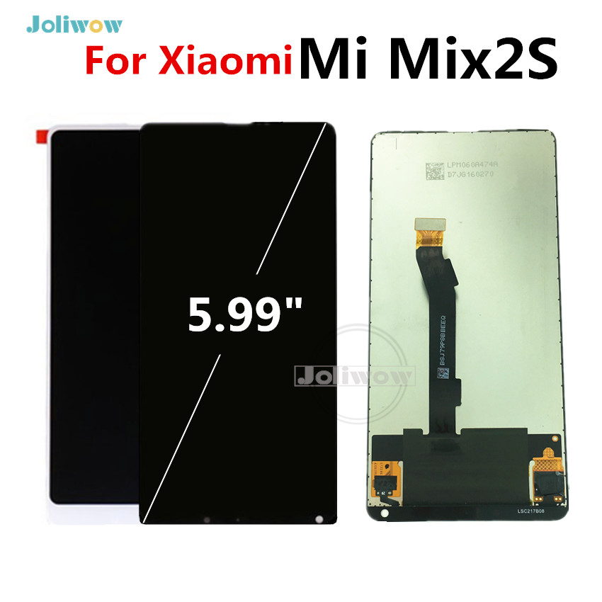 For Xiaomi Mi Mix 2S Full LCD Display Touch Screen Digitizer Replacement Assembly Glass Panel For Xiaomi Mi Mix2 SFor Xiaomi Mi Mix 2S Full LCD Display Touch Screen Digitizer Replacement Assembly Glass Panel For Xiaomi Mi Mix2 S