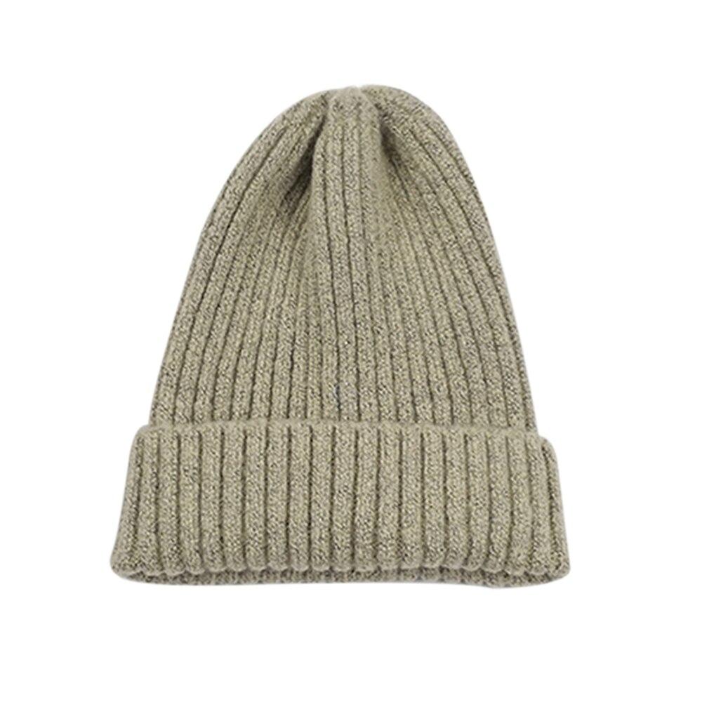 Вязаная шапка Повседневная Удобная зимняя унисекс игровая вязаная шапка - Цвет: white