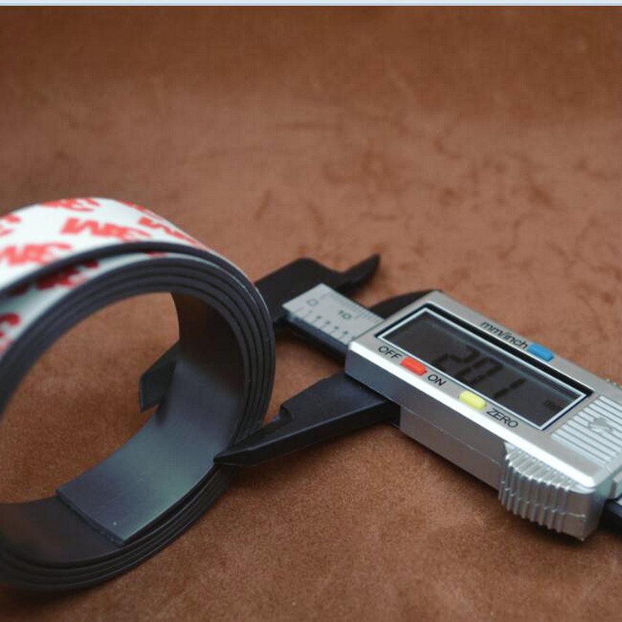 ✅Envío libre 1 metros magnética flexible autoadhesiva 1 M imán de ...