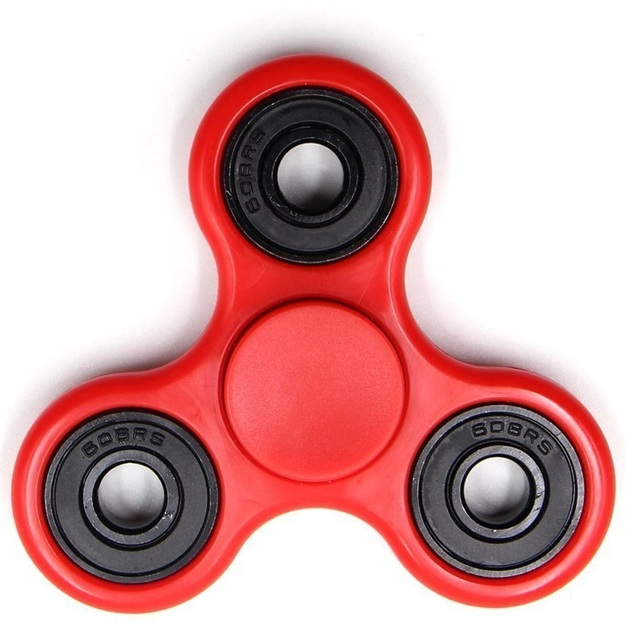 Hand Spinner Fidget Toy for antistress Tri-Spinner Anti-Stress 8 Kinds of Color spiner ,Stress Wheel Of Funny toys