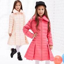 2016 Winter Jacket for Girl Jacket Winter Warm Duck Down Girl Parka Winter Warm Coat Long Children's winter Jacket Kid Outerwear