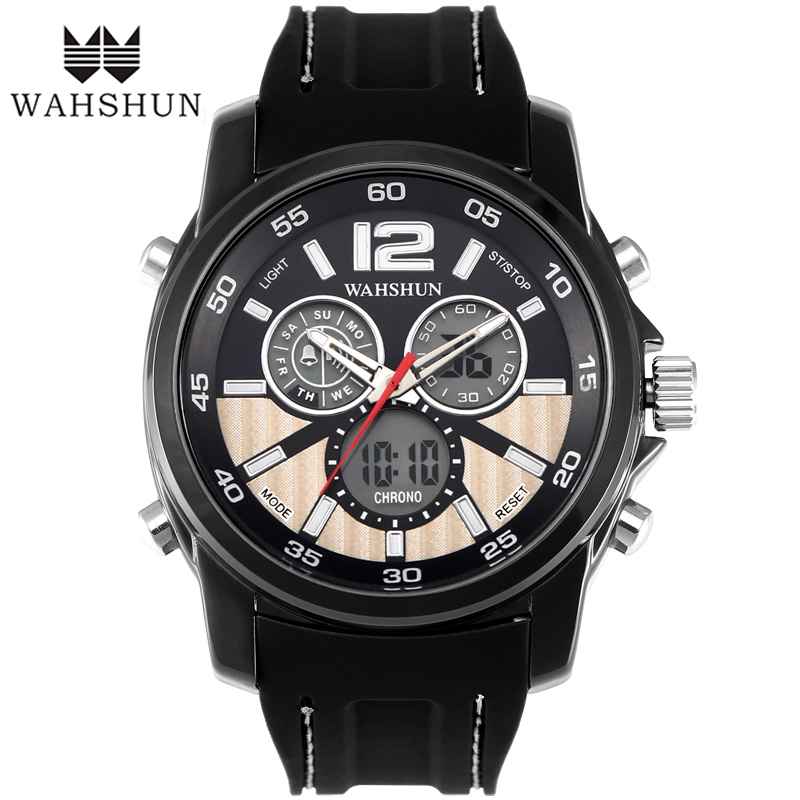 New Men Casual Watches IP Finished Alloy Dial 30M Waterproof Watch Fashion Wristwatch relogios masculino Gift