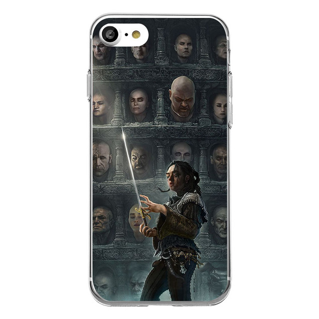 Game of Thrones Comic Phone Case for iPhone 5 5s SE 6 6s 7 plus