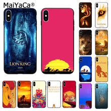 MaiYaCa The Lion King All Character black Phone Case for Apple iphone 11 pro 8 7 66S Plus X XS MAX 5S SE XR Cases Cover(China)