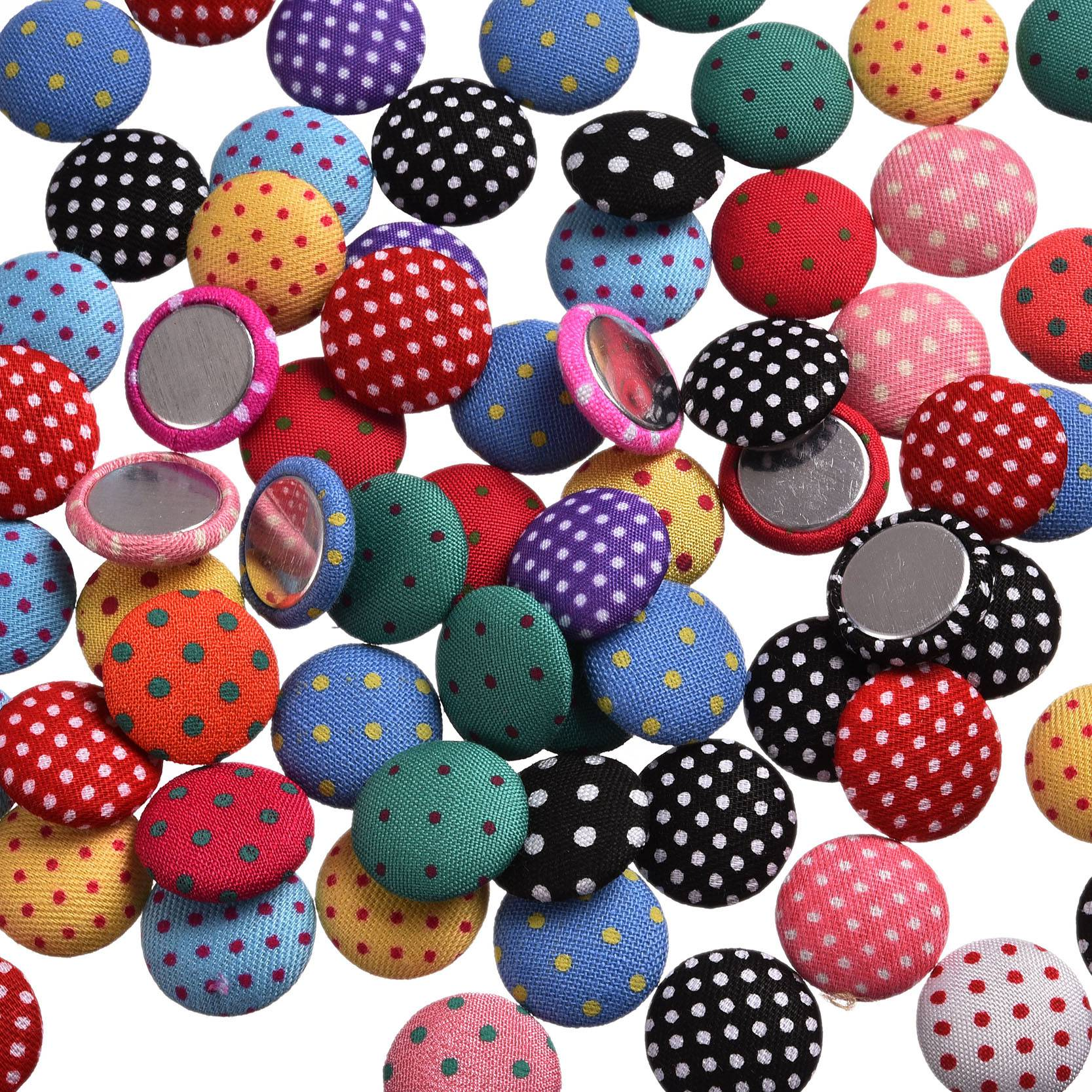 Buttons Fabric Cabochon Scrapbooking Sewing Accessories ...
