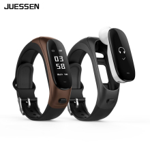 Juessn Earband Smart Bracelet V08 Heart Rate Monitor Blood Pressure Fitness Tracker Pedometer Smart Wristband for Android IOS
