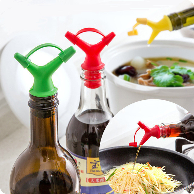 1pc Large and Small Hole Wine Stopper Kitchen Accessories for Pouring Soy Sauce Kitchen Tools Cocina Utensilios Kitchen Gadgets