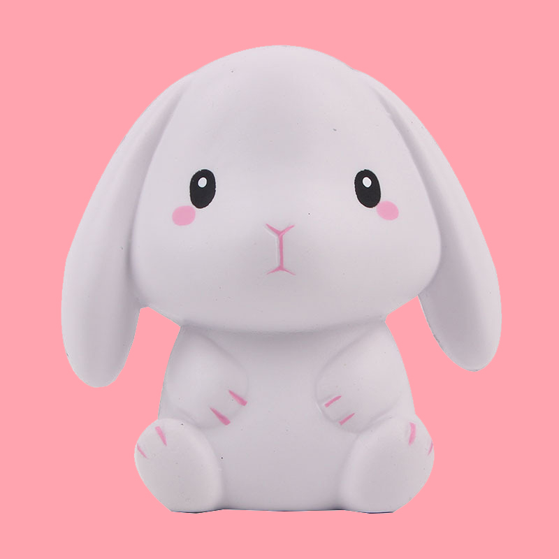 New Cute Cartoon Kawaii Squishy Toy Squeeze Squishies Rabbit Slow Rising Cream Squeeze Toy Antistress Scented Stress Relief Toys