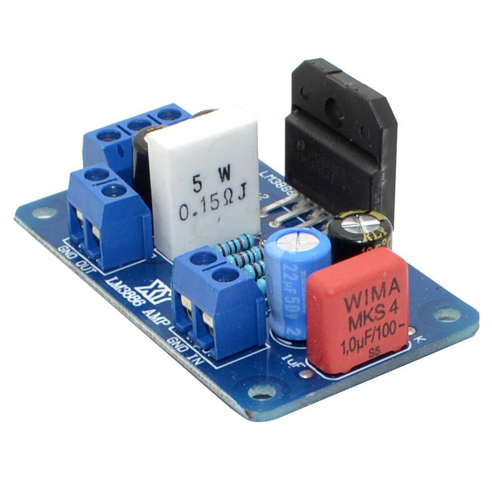 Online Shop Mono Amplifier Lm3886 Circuit Board Wu Gang 50w Hi Fi Audio Using Tda1514 Electronic Schematic Free Shipping 2pcs Lot Digital Stereo Lm3886tf Amp Kit Diy