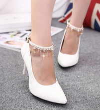 Free shipping new autumn head toe heels shoes fine with the bill