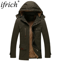 Free Shipping 2018 IFRICH Brand New Men Spring Autumn Jacket Windproof Wind Solid Color Army Green Khaki Black Male Jacket