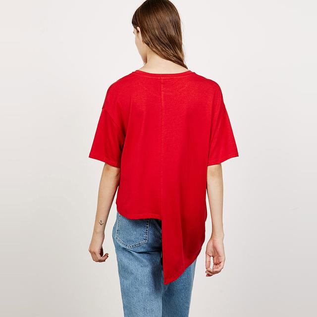 Asymmetrical Basic Top for Women