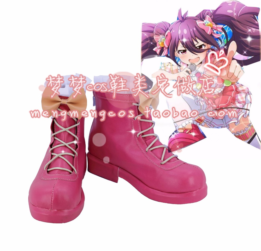 Wendy Marvell Wendy Marvell Anko Tsubuzaki cosplay shoes Boots Custom Made 3525