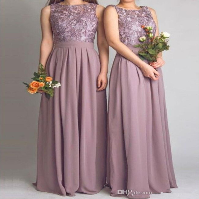 Popular Mauve Bridesmaid Dresses-Buy Cheap Mauve Bridesmaid ...