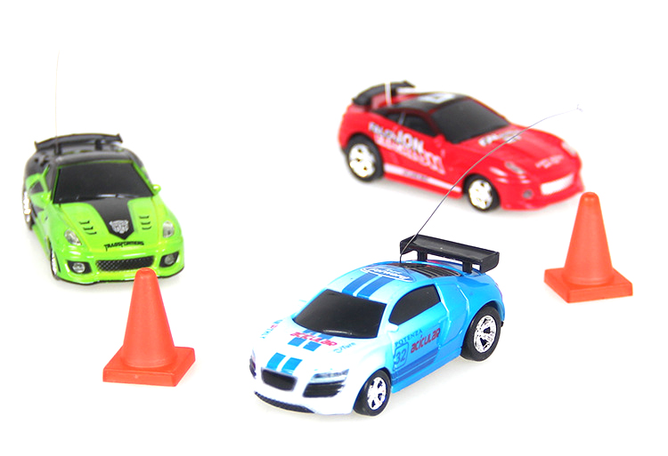 Remote Control Coke Car toys High Speed Truck Mini pop-top cars RC Car 4 colors random delivery Electronic kids boy toys 3