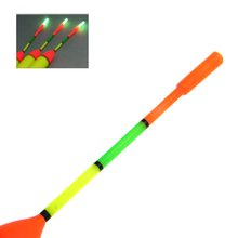 3Pcs 8g #2.0 EVA Luminous Fishing Float With Snap & Swivel+10Pcs Glow Light Stick Wand Lighting Foam Floats for Night Fishing