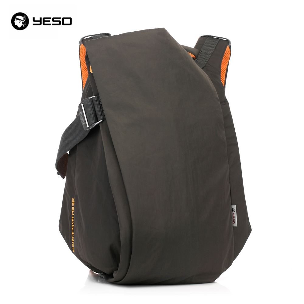 YESO Brand Stylish Men Large Capacity Bag Travel Laptop Backpack Waterproof Nylon College Tide Casual Men's Backpacks School Bag цена 2017