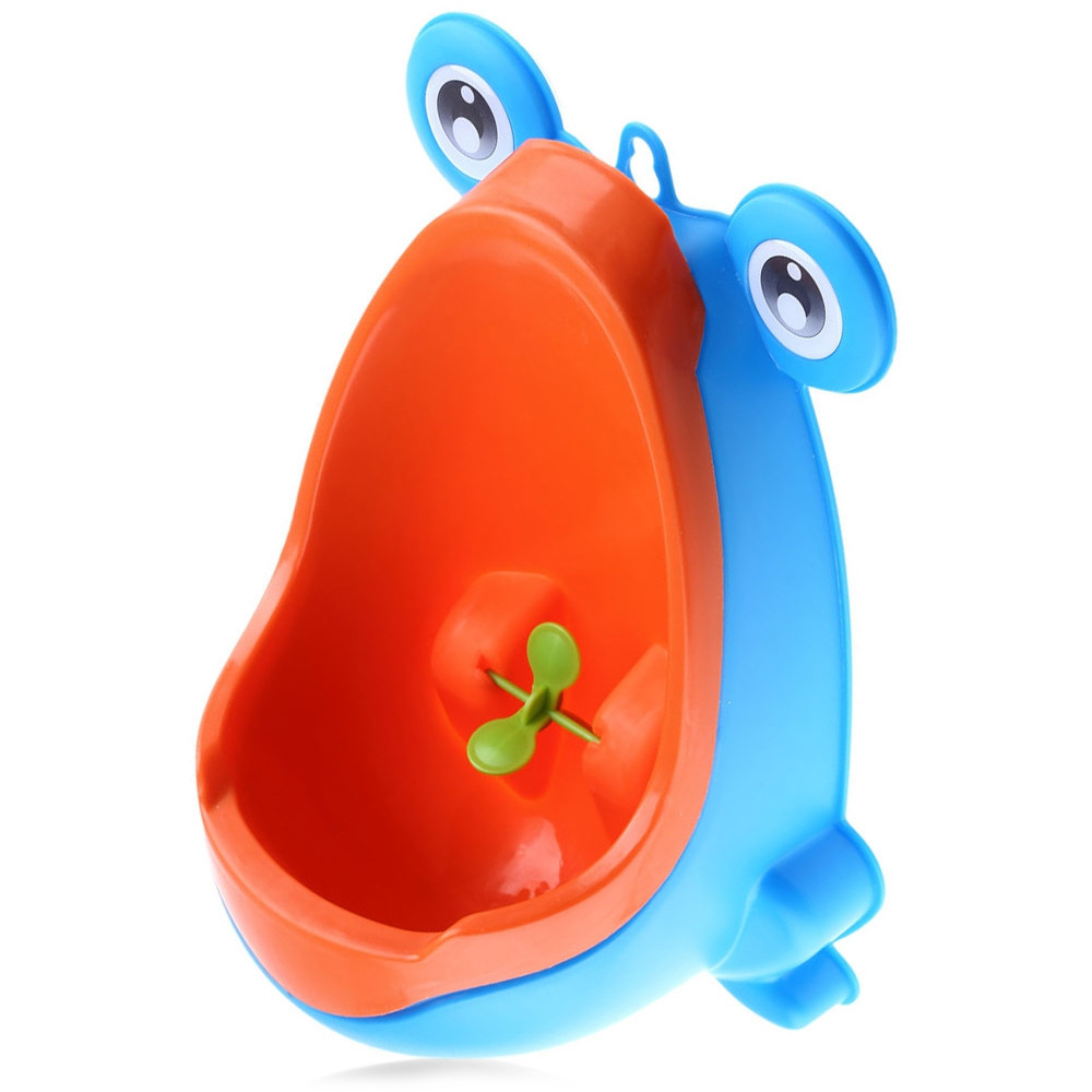 Lifestyle Baby Urinal Wall - hanging Children Standing Urinal Toys Separation Strong Sucker Toilet Training with Rotation Fan