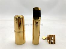 BULUKE Professional Tenor sopranowy saksofon altowy metalowy ustnik pozłacany ustnik Sax usta kawałki rozmiar 5 6 7 8 9 tanie tanio