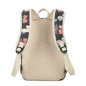 Image 4 - ZENBEFE Cute Backpack Quality Women Backpack Printing Backpacks For Girls Cat Pattern School Bag ForTeenagers Backpack Female