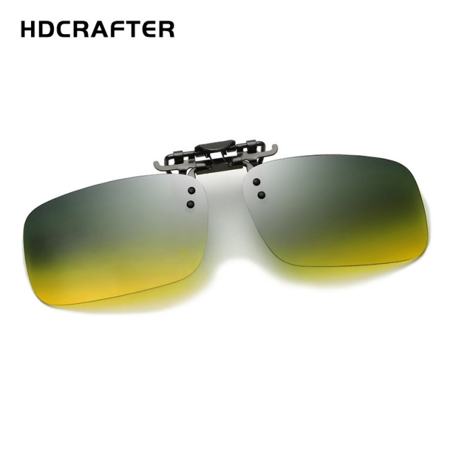5e12559ee9a Super Light Polarized Sunglasses Clip on Day   Night Vision Driving Sun  Glasses Unisex Eyeglasses Accessories