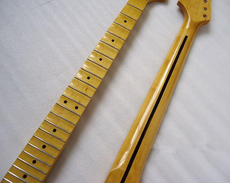 disado 22 Frets inlay dots concave fingerboard geel Electric Guitar - Muziekinstrumenten - Foto 3
